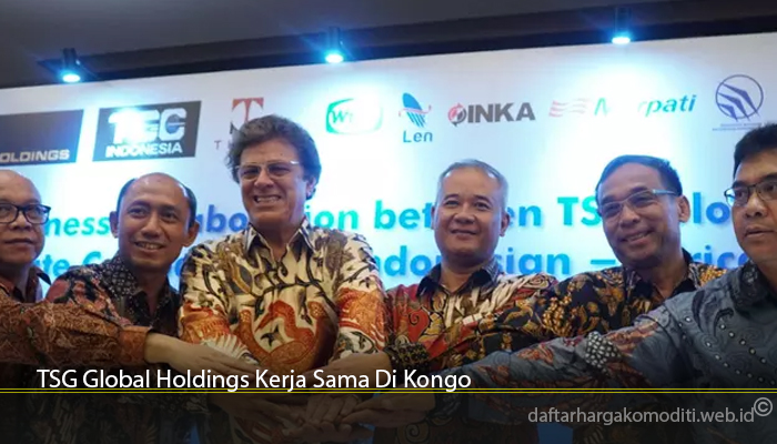 TSG Global Holdings Kerja Sama Di Kongo